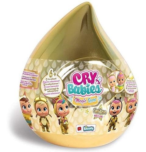 Cry Babies Muñecas Bebes Llorones Lagrimas Doradas Sorpresa