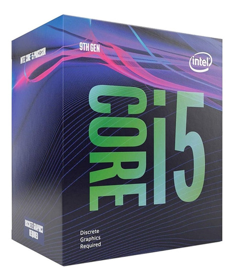 Procesador Gamer Intel Core I5-9400f Bx80684i59400f