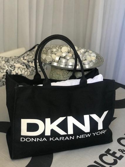 Bolsa Donna Karan ( Lona Bem Grande)dkny
