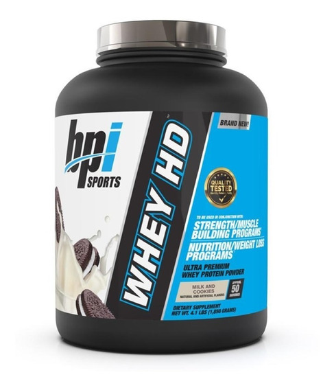 Bpi Whey Hd Protein 4lb Milk And Cooki - L a $41800
