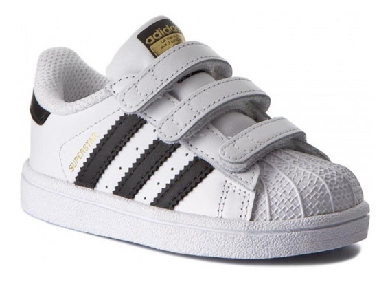 Zapatillas adidas Bebe Superstar Cfi Bz0418 Looking