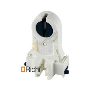 Pack X 10 Zocalo Con Rotor G13 Richi Apto Tubo Led G13