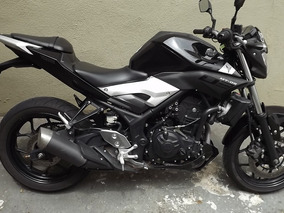 Yamaha Mt 03 2017 Preta