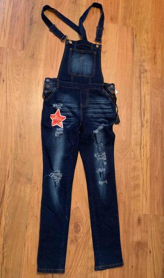 Pantalon De Pechera De Mezclilla Overol Mercadolibre Com Mx