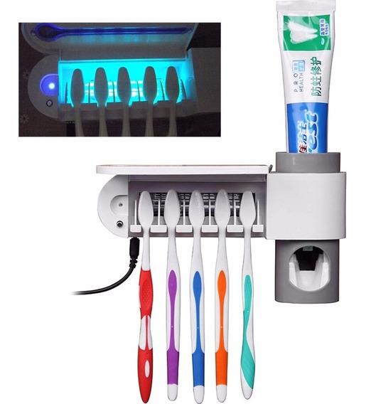 Esterilizador E Apoiador De Escova De Dentes
