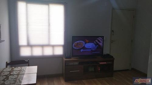 Apartamento Para Venda No Bairro Água Chata Em Guarulhos - Cod: Ai21685 - Ai21685