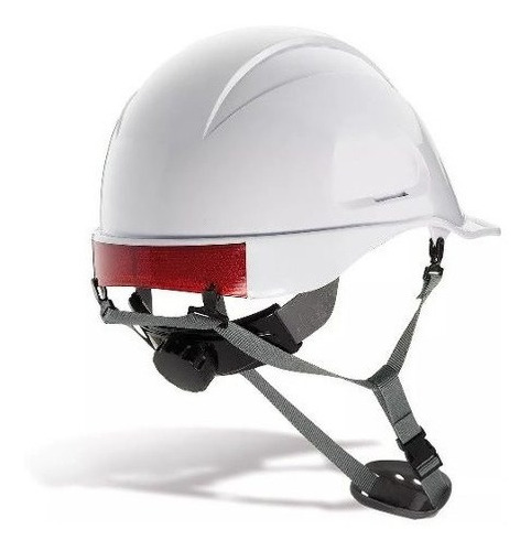 Casco Dielectrico Abs Ingeniero Con Barbuquejo Certificado