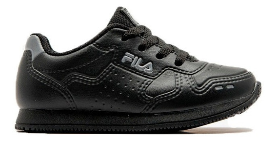 Zapatillas Fila Lifestyle Niño Inf Classic 92 Neg - Gris Ras