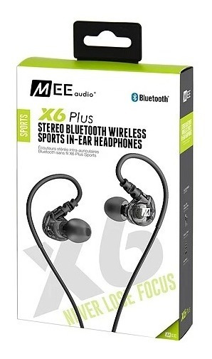 Fone Headphone In-ear Stereo Bluetooth Mee Audio X6 Retorno