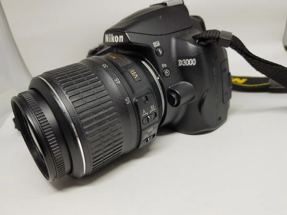 Câmera Nikon D3000 +kit+ Flash Speedlight Sb700 + Acessórios
