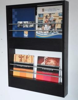 Revistero - Repisa Porta Revistas - Muebles De Melamina