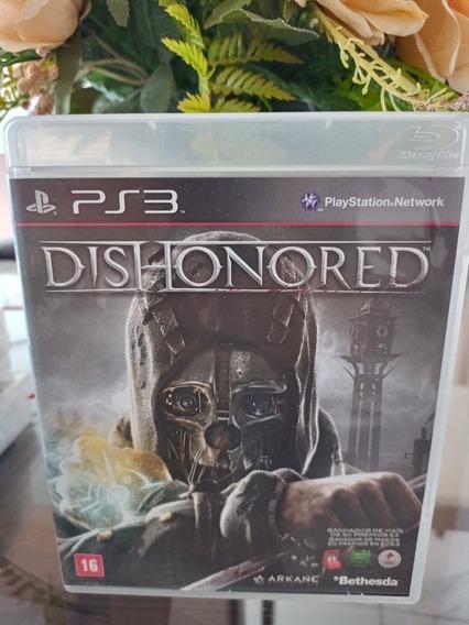 Dishonored Ps3 Novo Completo Mídia Física Promoção!