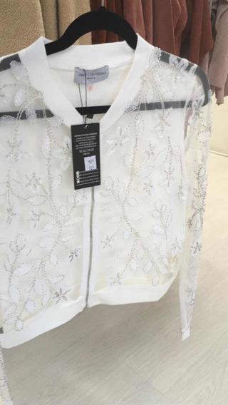 Suéter Blanco Transparente