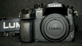 Câmera Dslr Panasonic Gh4
