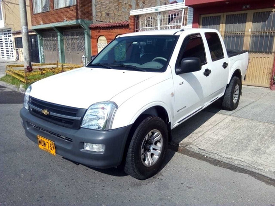 Chevrolet Luv Dmax 4x2 Diesel 3.0 2007 Doble Cabina Aire Aco