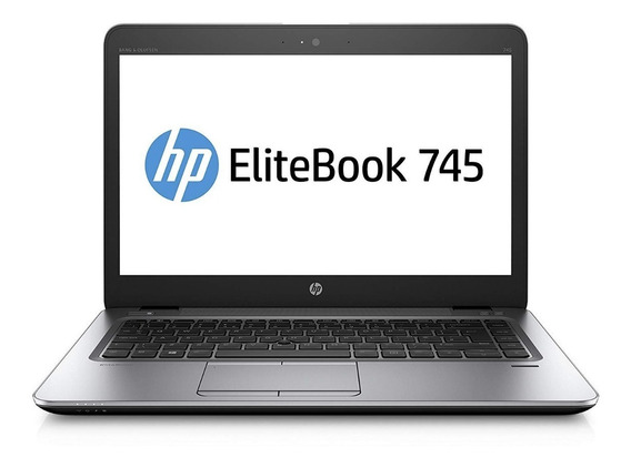 Notebook Hp Elitebook 745 A8 Quad Core 8gb 128ssd - Novo