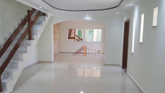 Sobrado Com 3 Dormitórios À Venda, 234 M² Por R$ 890.000 - Vila Rui Barbosa - São Paulo/sp - So1177