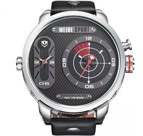 Relógio Weide Masculino Preto Barato Garantia Nota A2231
