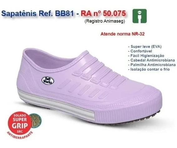 Sapatênis Profissional Antiderrapante Eva Bb81 Lançamento