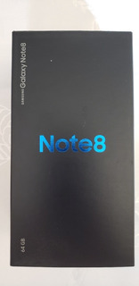 Celular Samsung Galaxy Note 8 - Impecavel.