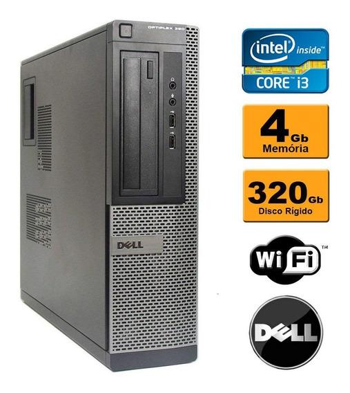Computador Dell Optiplex 990 Core I5 4gb Hd320gb Hdmi Wifi