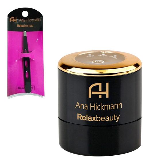 Auto Aplicador Base Perfect Make Up + Pinça Preta Relaxmedic