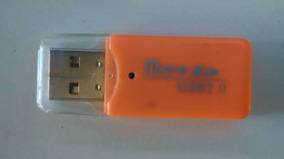 Leitor Usb P/ Memoria Micro Sd