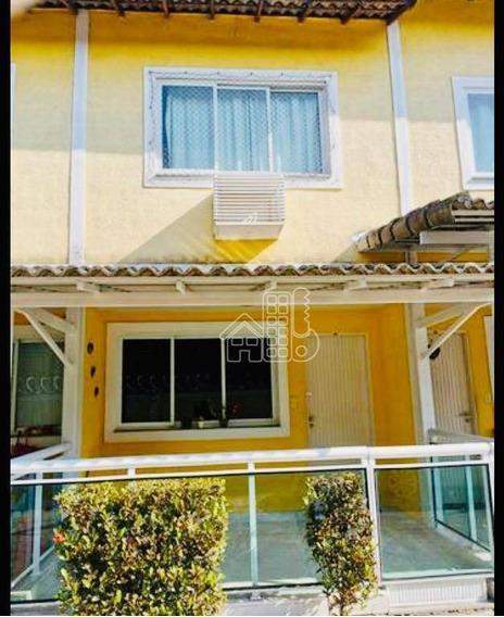 Casa Com 2 Dormitórios À Venda, 90 M² Por R$ 280.000,00 - Fonseca - Niterói/rj - Ca1117