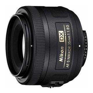 Lente 35mm Para Cámara Nikon