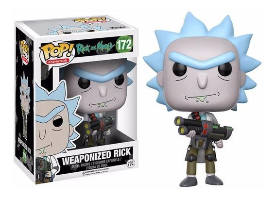 Funko Pop Weaponized Rick Rick E Morty #172 12x Frete Gratis