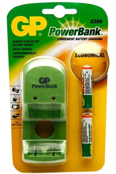 Carregador De Pilhas Gp Power Bank S 360 220 V
