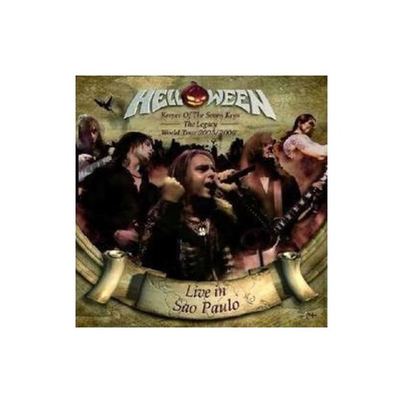 Helloween Live In Sao Paulo Cd X 2 Nuevo