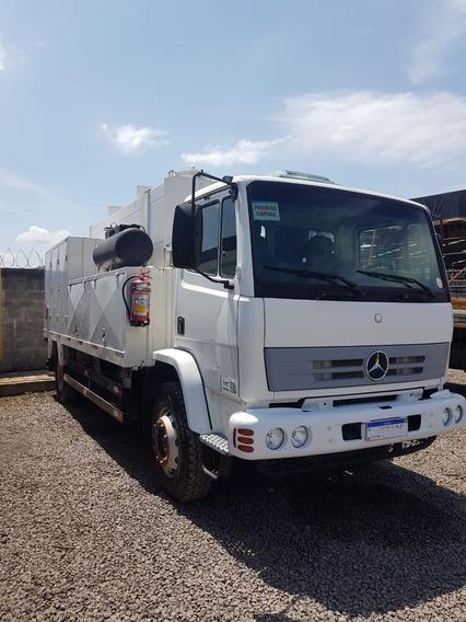 Mercedes-benz Mb 1718 Comboio 6.000 Litros Diesel Completo