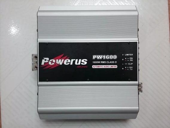 Amplificador De Audio Para Som Automotivo Powerus Pw 1600