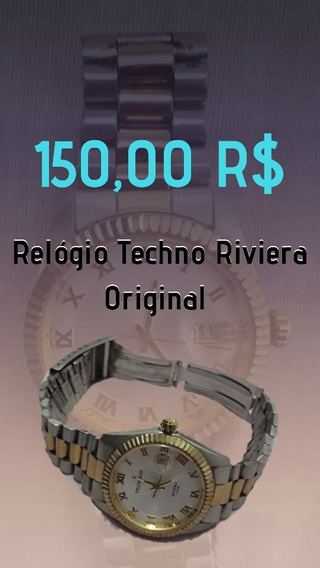 Relógio Original Techno Riviera
