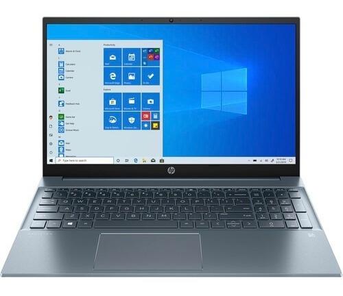Imagen 1 de 3 de Hp 15.6  Pavilion 15 Multi-touch Laptop - Fog Blue Aluminum