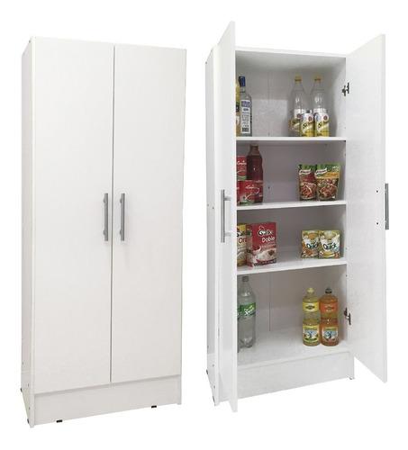 Imagen 1 de 7 de Despensero 2 Puertas Cocina 60x30x150cm Organizador Envíos !