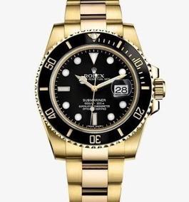 Relógio Rolex Submariner Automático Vidro Safira Prova Dágua