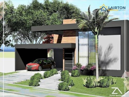 Imagem 1 de 13 de Casa Com 3 Dormitórios À Venda, 232 M² Por R$ 1.650.000,00 - Figueira Garden - Atibaia/sp - Ca2288