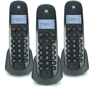 Teléfono Inalámbrico 3 Auriculares