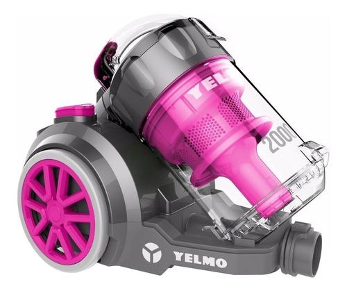 Imagen 1 de 1 de Aspiradora Yelmo AS-3228 3.5L  gris y rosa 220V