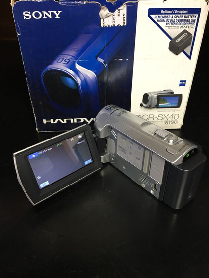 Filmadora Digital Sony Dcr-sx40
