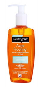 Gel De Limpeza Neutrogena Acne Proofing 200ml