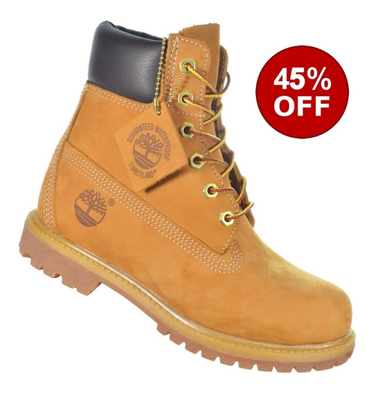 Bota Timberland Yellow Boot 6 Premium Original Importada