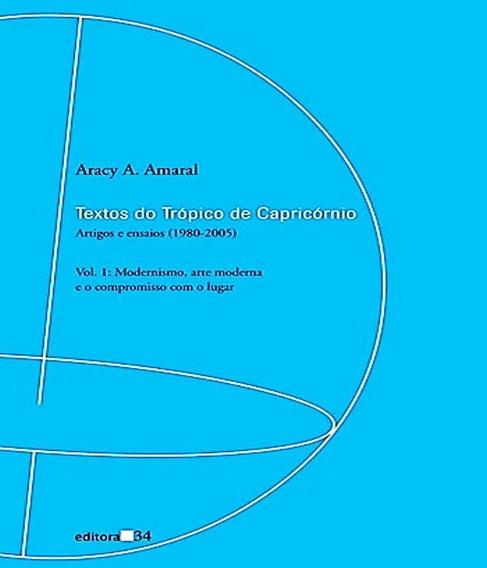 Textos Do Tropico De Capricornio - Vol 01