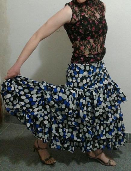 Pollera A Lunares Flamenco
