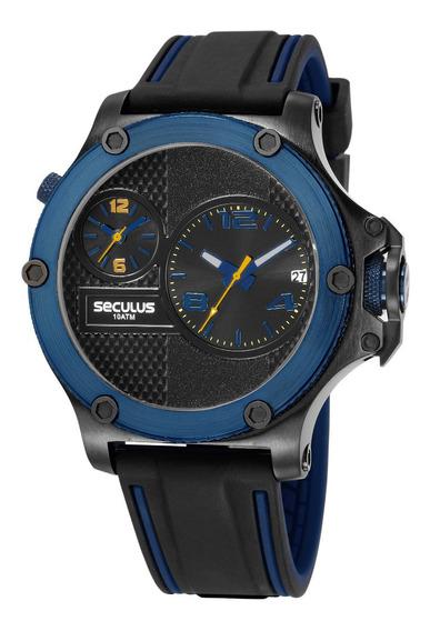 Relógio Seculus Masculino 20732gpsvtl2