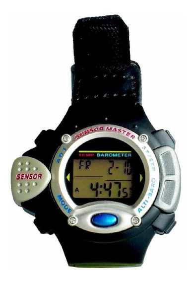 Relógio C/ Altímetro E Barômetro Sensormaster Smw 35 Csr