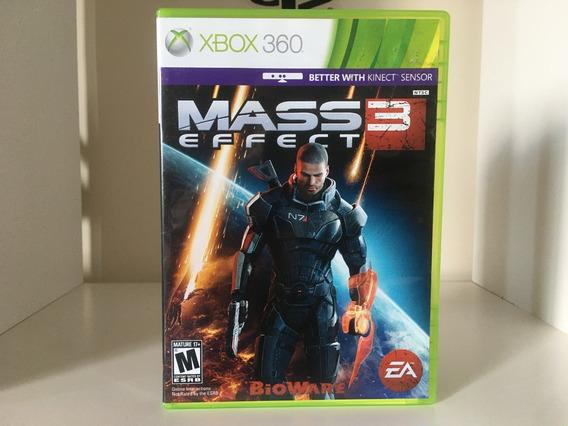 Mass Effect 3 - Xbox 360 - Mídia Física Original