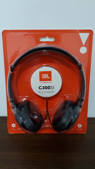 Headphone Fone De Ouvido Jbl C300 Si Preto Novo Lacrado